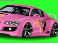 Game Dream Car colorier. Jouez en ligne